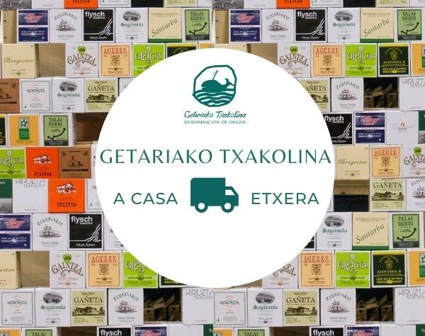 Entrega a domicilio de Txakoli - Getariako Txakolina