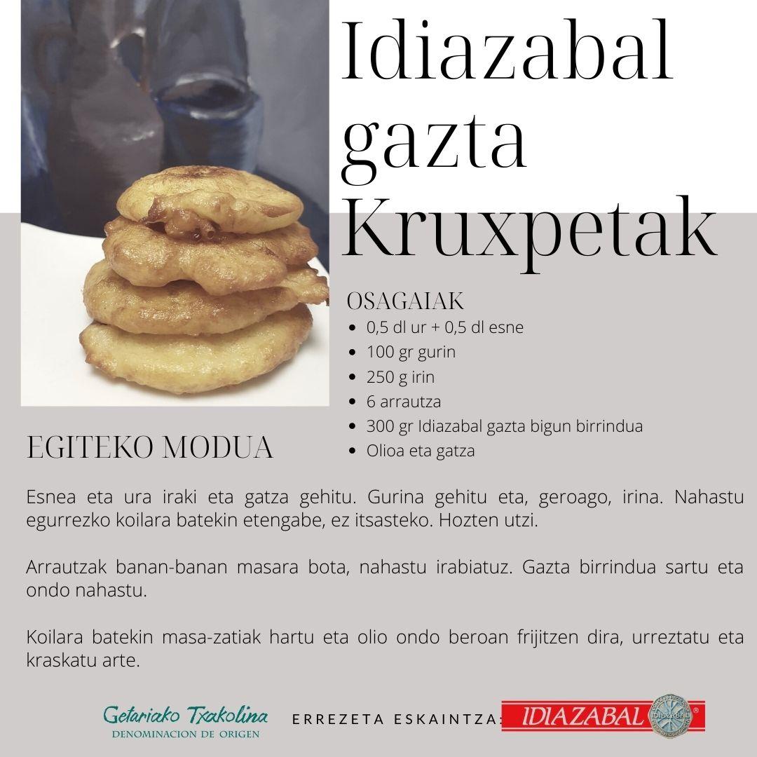Idiazabal Gazta Kruxpetak