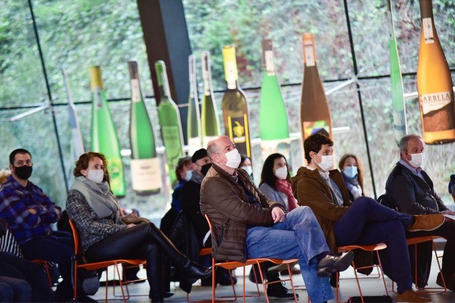 Público presentación cosecha Getariako Txakolina